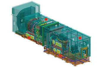 The Main Systems of the Gas Turbine Unit: