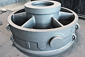 Exhaust Plenum of the LP Turbine