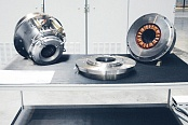 Active magnetic bearing system
