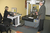 Measurements on the coordinate measuring machine
