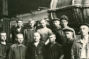 The participants of the  Stakhanovskaya Turbo Blower construction
