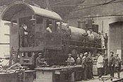 Locomotive mechanical  workshop. 1920